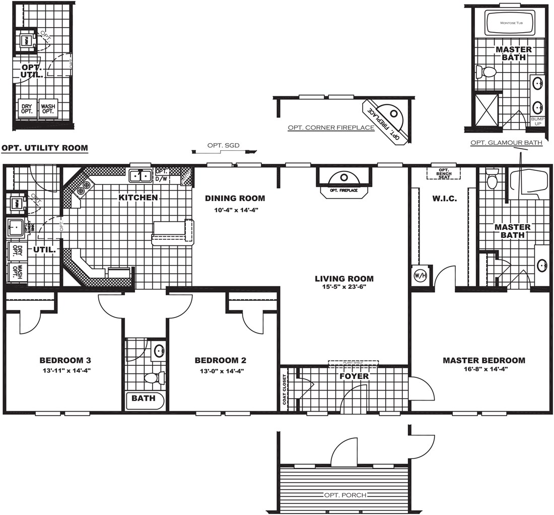 Clayton rutledge The laurels floor plan