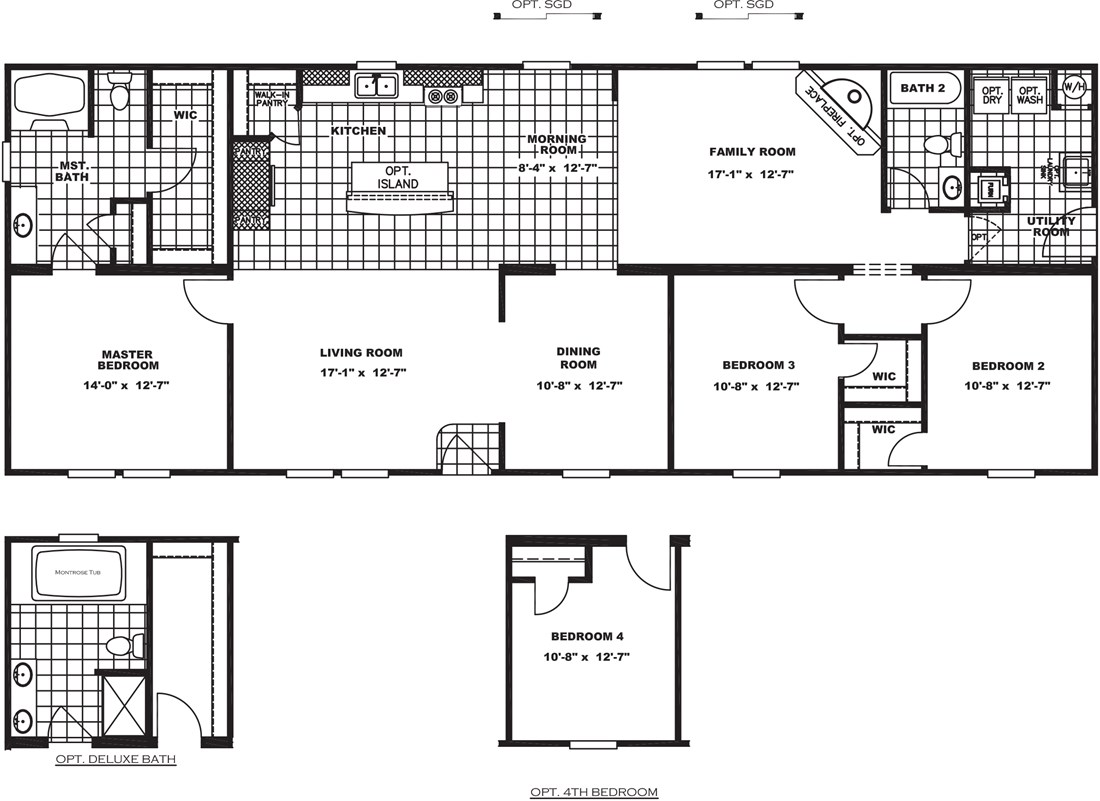 The SHADOW CREEK Floor Plan