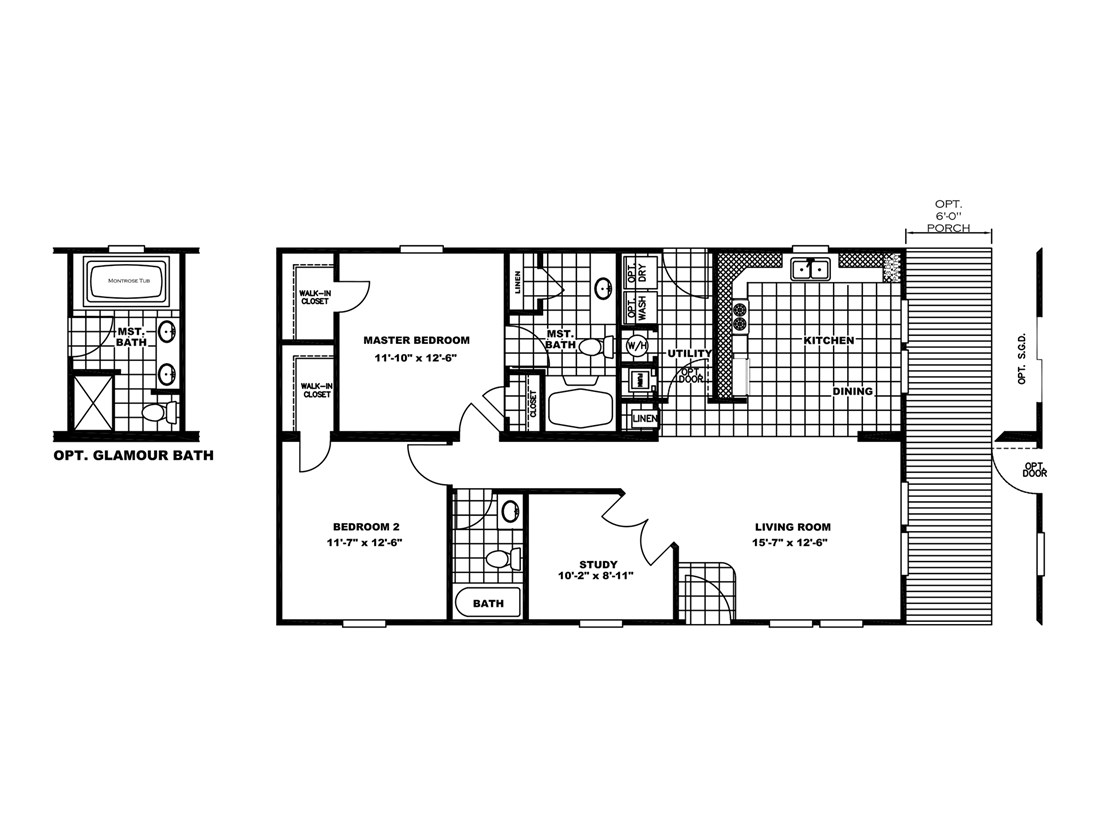 The SEDONA Floor Plan