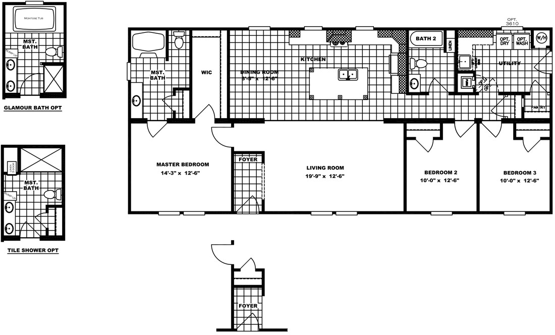 The CHEYENNE Floor Plan