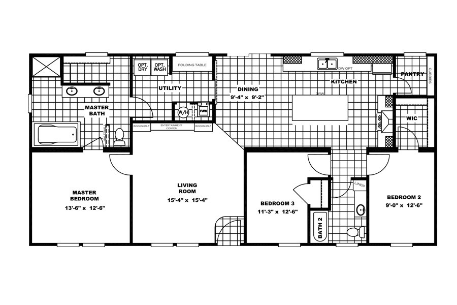 The THE ANNIVERSARY 2.1 Floor Plan