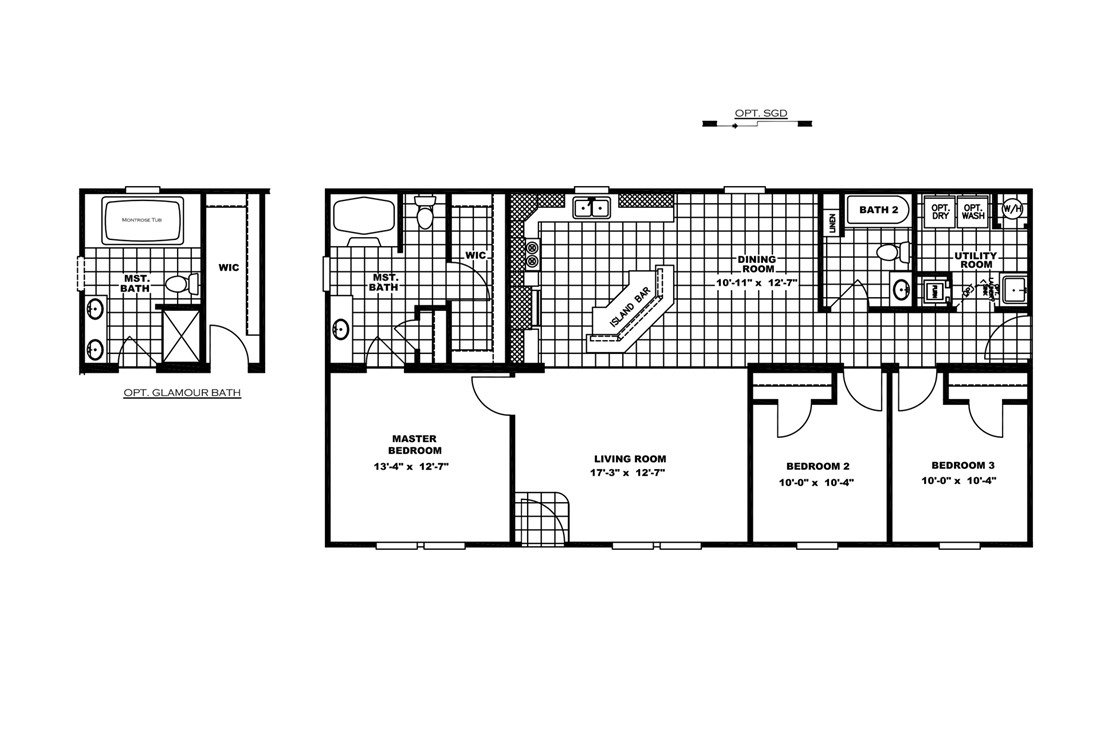The TUCSON Floor Plan